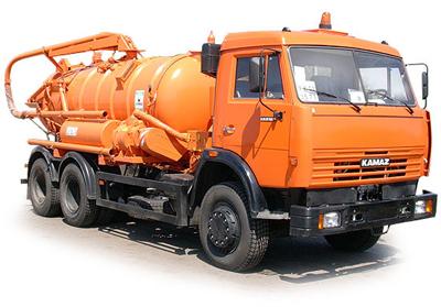 Комбинированная каналопромывочная машина (илосос)