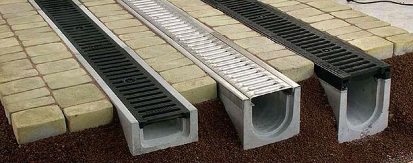 Открытая ливневая канализация